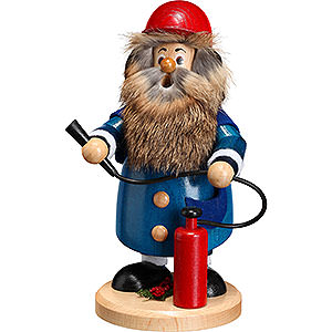 Smokers Professions Smoker - Firefighter - 22 cm / 9 inch