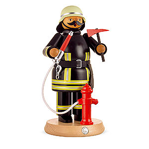 Smokers Professions Smoker - Fireman - 24 cm / 9 inch