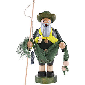 Smokers Professions Smoker - Fisherman - 18 cm / 7 inch