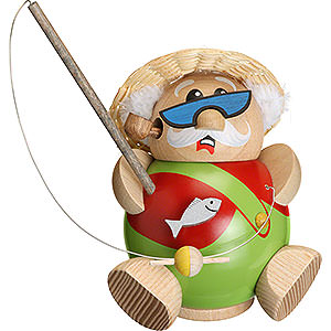 Smokers Hobbies Smoker - Fisherman - Ball Figure - 12 cm / 5 inch