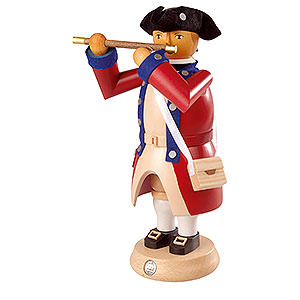 Smokers Professions Smoker - Flute Player - Virginia State Garrison Regiment - 24 cm / 9 inch