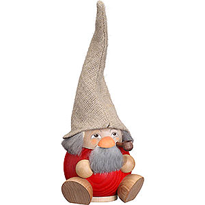 Smokers Misc. Smokers Smoker - Forest Dwarf Raspberry Red - Ball Figure - 18 cm / 7 inch