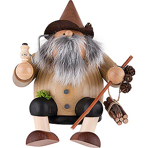 Smokers Hobbies Smoker - Forest Gnome - Edge Stool - 15 cm / 5.9 inch