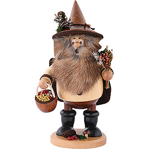 Smokers Hobbies Smoker - Forest Gnome Herb Gatherer Natural - 25 cm / 10 inch