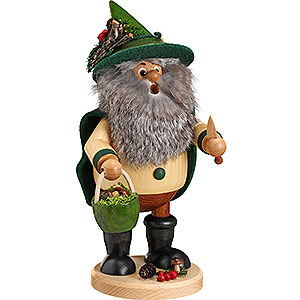 Smokers Hobbies Smoker - Forest Gnome Mushroom Picker, Green - 25 cm / 10 inch