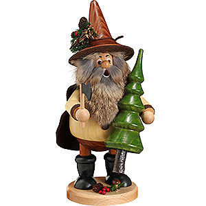 Smokers Misc. Smokers Smoker - Forest Gnome Tree Thief, Natural - 25 cm / 10 inch