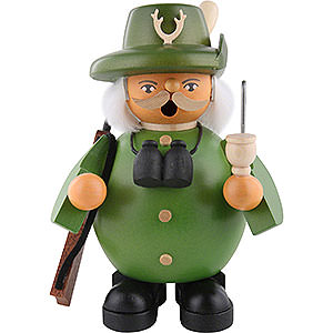 Smokers Professions Smoker - Forest Ranger - Green - 14 cm / 6 inch