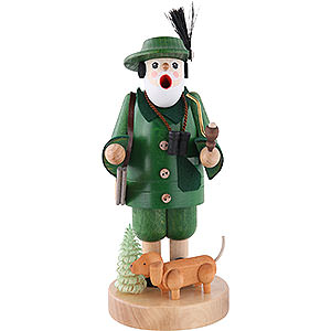 Smokers Professions Smoker - Forest Ranger with Dachsdog - 19 cm / 7 inch