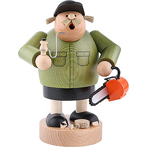 Smokers Professions Smoker - Forest Worker - 20 cm / 7.9 inch