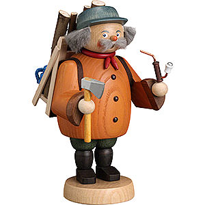 Smokers Professions Smoker - Forest Worker Gnome - 19 cm / 7 inch