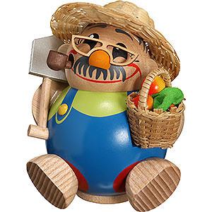 Smokers Professions Smoker - Gardener - Ball Figure - 11 cm / 4 inch