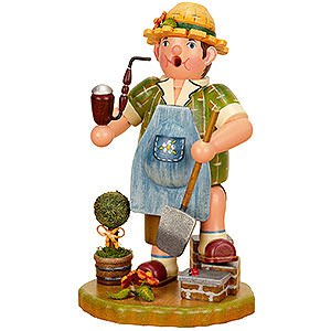 Smokers Professions Smoker - Gardener Man - 21 cm / 8 inch