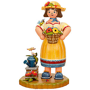 Smokers Professions Smoker - Gardener Woman - 21 cm / 8 inch