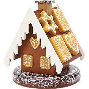 Smokers Misc. Smokers Smoker - Gingerbread House - 13 cm / 5 inch