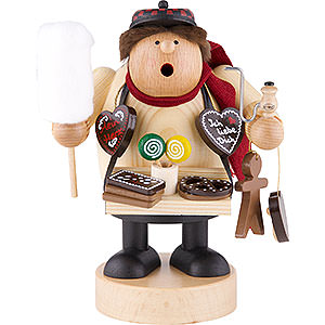 Smokers Professions Smoker - Gingerbread Salesman - 18 cm / 7 inch