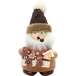 Smokers Professions Smoker - Gingerbread Salesman Natural - 17,5 cm / 7 inch