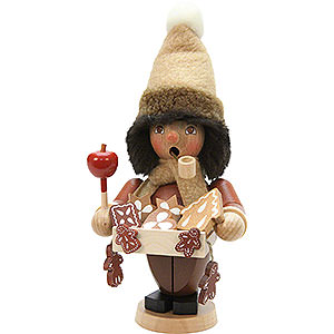 Smokers Professions Smoker - Gingerbread Salesman Natural Colour - 20,5 cm / 8 inch