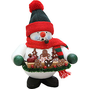 Smokers Snowmen Smoker - Gingerbread Snowman - 17,5 cm / 7 inch