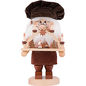 Smokers Professions Smoker - Gnome Candle Arch - Maker - 28 cm / 11 inch