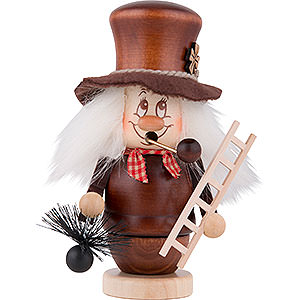 Smokers Professions Smoker - Gnome Chimney Sweeper - 15 cm / 6 inch
