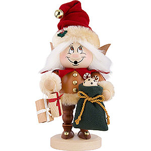 Smokers Santa Claus Smoker - Gnome Christmas Elf - 31,5 cm / 12.4 inch