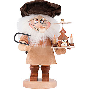 Smokers Professions Smoker - Gnome Christmas Pyramid Artisan - 28 cm / 11 inch