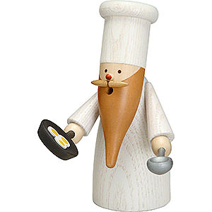 Smokers Professions Smoker - Gnome Cook - 16 cm / 6 inch