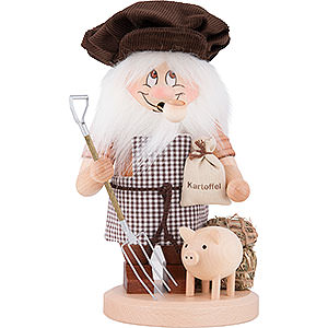 Smokers Professions Smoker - Gnome Farmer - 28 cm / 11 inch