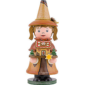 Smokers Misc. Smokers Smoker - Gnome Gingerbread House - 14 cm / 5.5 inch