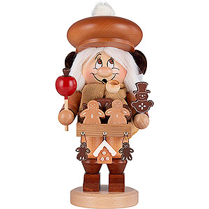 Smokers Professions Smoker - Gnome Gingerbread Salesman - 30 cm / 12 inch