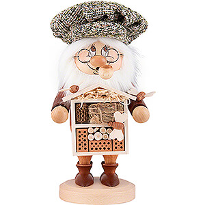 Smokers Hobbies Smoker - Gnome Insect Lover - 28 cm / 11 inch