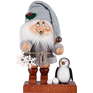Smokers Santa Claus Smoker - Gnome North Pole Santa - 28,5 cm / 11 inch