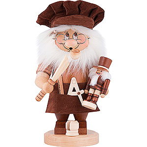 Smokers Professions Smoker - Gnome Nutcracker Maker - 28 cm / 11 inch