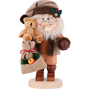 Smokers Santa Claus Smoker - Gnome Santa Claus - 28,0 cm / 11 inch