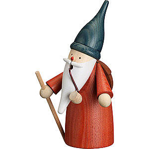 Smokers Hobbies Smoker - Gnome Wanderer - 16 cm / 6 inch
