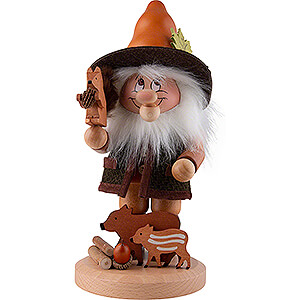 Smokers Hobbies Smoker - Gnome Wild Animal Lover - 33,5 cm / 13.2 inch