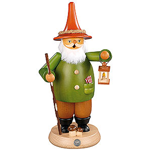 Smokers Misc. Smokers Smoker - Gnome with Lantern - 25 cm / 10 inch