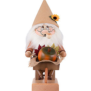 Smokers Misc. Smokers Smoker - Gnome with Wheelbarrow - 32,5 cm / 12.8 inch