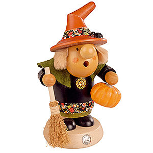 Smokers All Smokers Smoker - Halloween Witch with Pumpkin - 11 cm / 4 inch