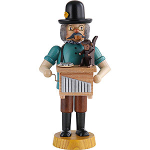 Smokers Professions Smoker - Hand Organ Player - 18 cm / 7 inch