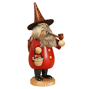 Smokers Misc. Smokers Smoker - Herb-Gnome Red - 19 cm / 7 inch