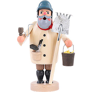 Smokers Professions Smoker - Janitor - 19 cm / 7 inch