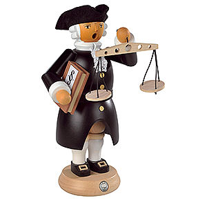 Smokers Professions Smoker - Judge Colonial Edition - 24 cm / 9 inch