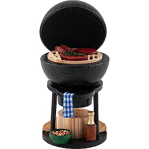 Smokers Hobbies Smoker - Kettle Barbecue - 15,5 cm / 6.1 inch