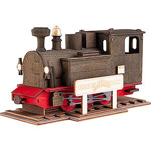 Smokers Smoking Vehicles Smoker - Locomotive Fichtelbergbahn - 9,5 cm / 3.7 inch