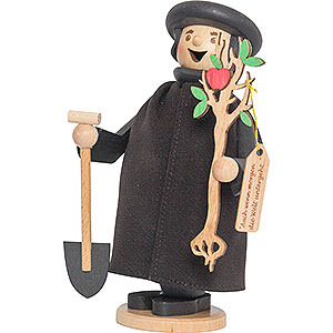 Smokers Famous Persons Smoker - Martin Luther with Apple Tree - 17 cm / 6.7 inch