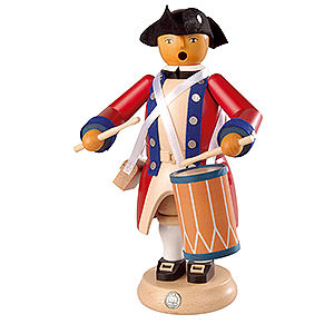 Smokers Professions Smoker - Military Drummer - Virginia State Garrison Regiment - 24 cm / 9 inch