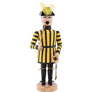 Smokers Professions Smoker - Miner Saxonian Kings Court Trumpet Player - 21 cm / 8 inch