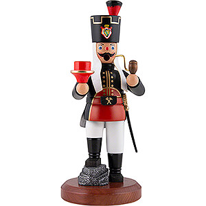 Smokers Professions Smoker - Miner with Candle Holder - 22 cm / 8.7 inch