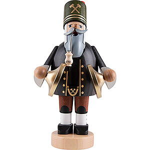Smokers Professions Smoker - Miner with Cymbals - 20 cm / 8 inch